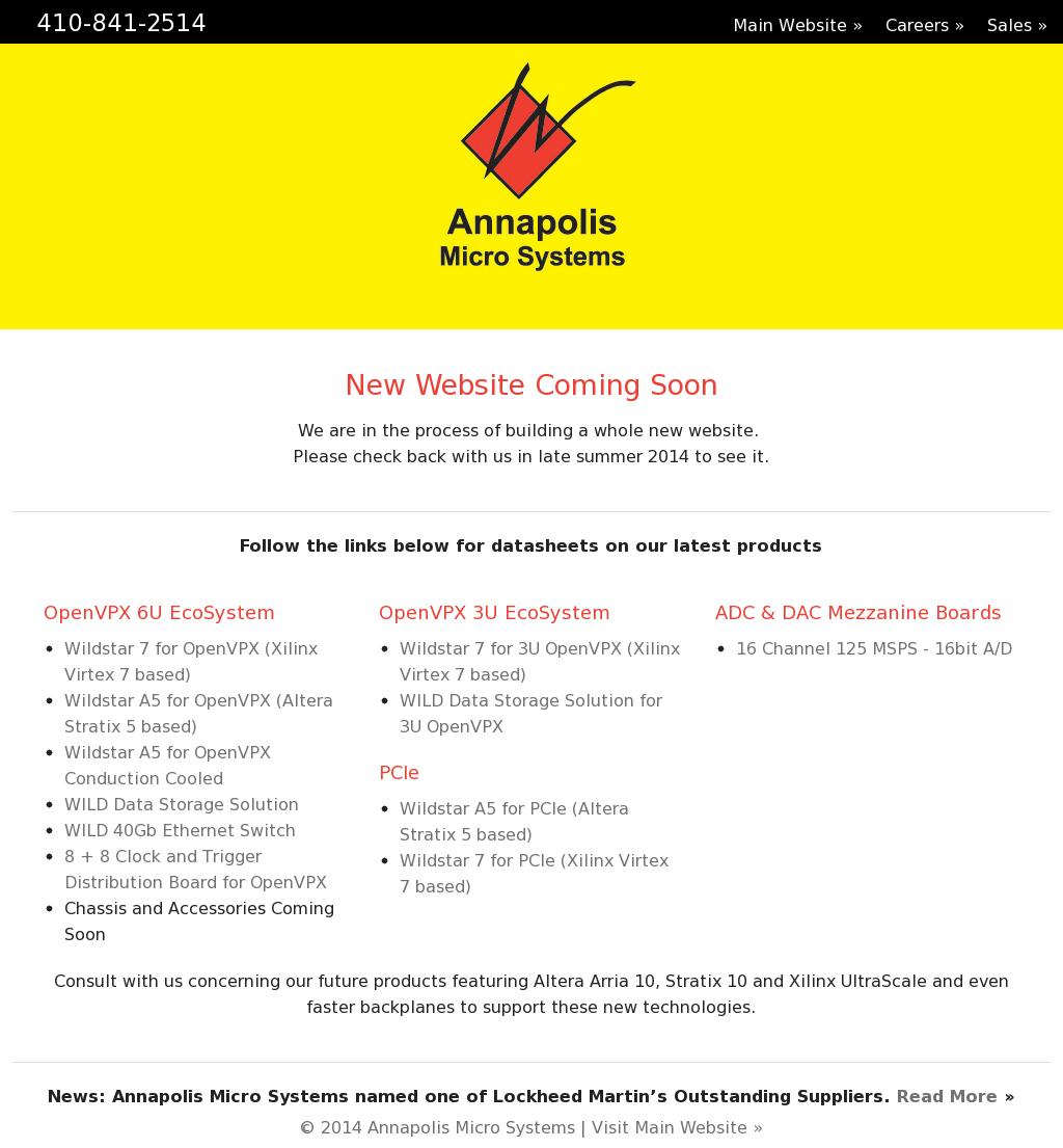 Owler Reports - Annapolis Micro Systems Blog Annapolis Micro