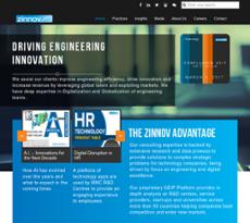 Zinnov website history