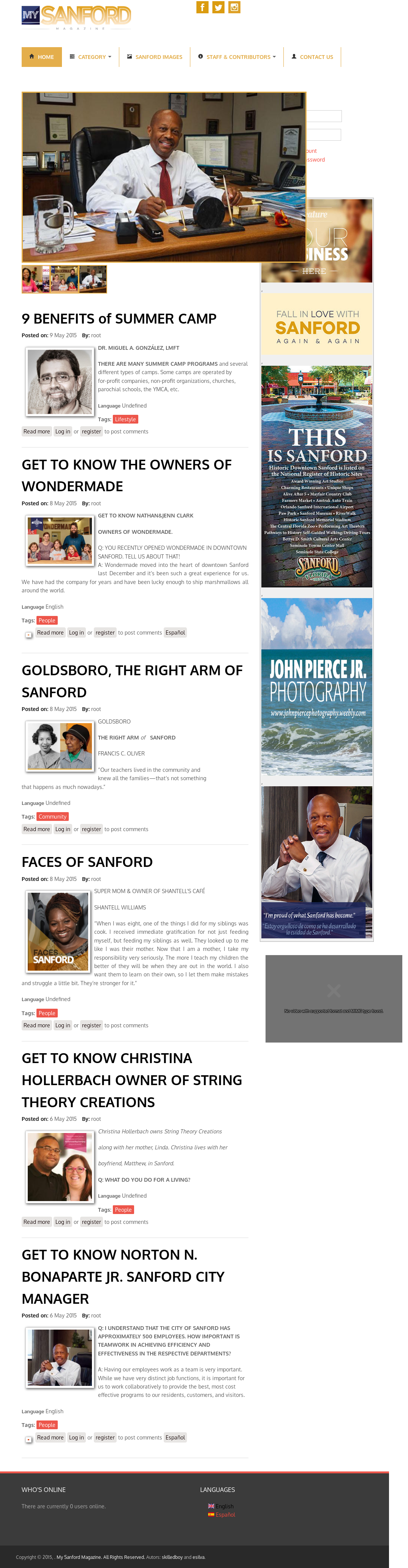 My Sanford Magazine Competitors, Revenue and Employees