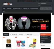 Trendzzone website history