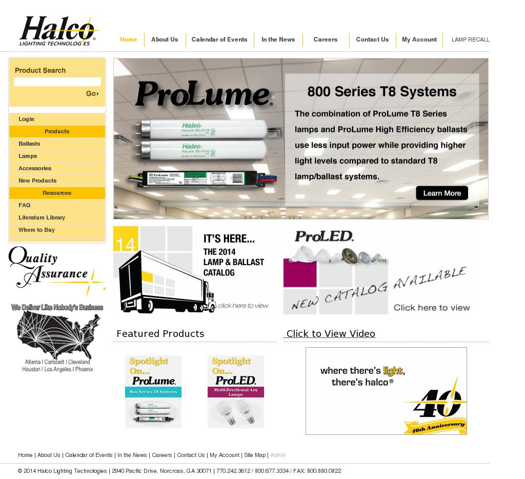 Halco Lighting Technologies Compeors Revenue And