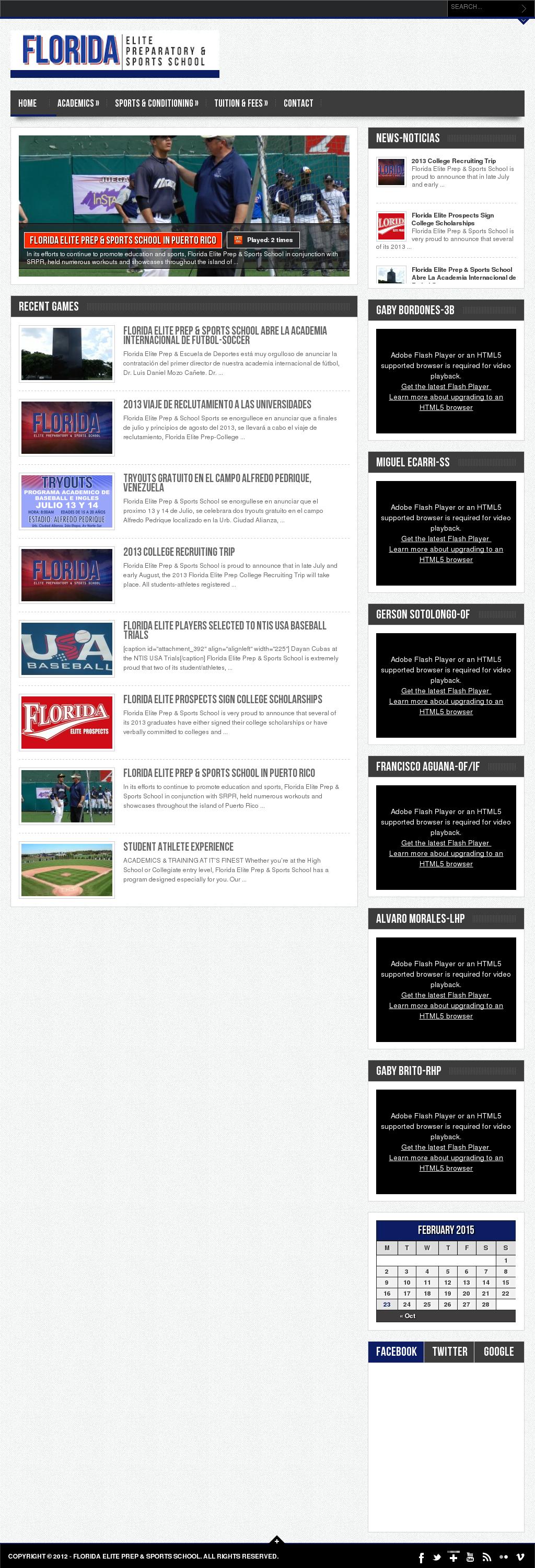 Florida Elite Prep & Sports School Competitors, Revenue and