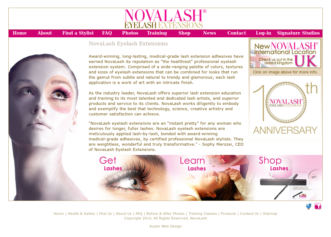 Novalash Eyelash Extensions Competitors Revenue And Employees