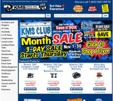 KMS Tools website history