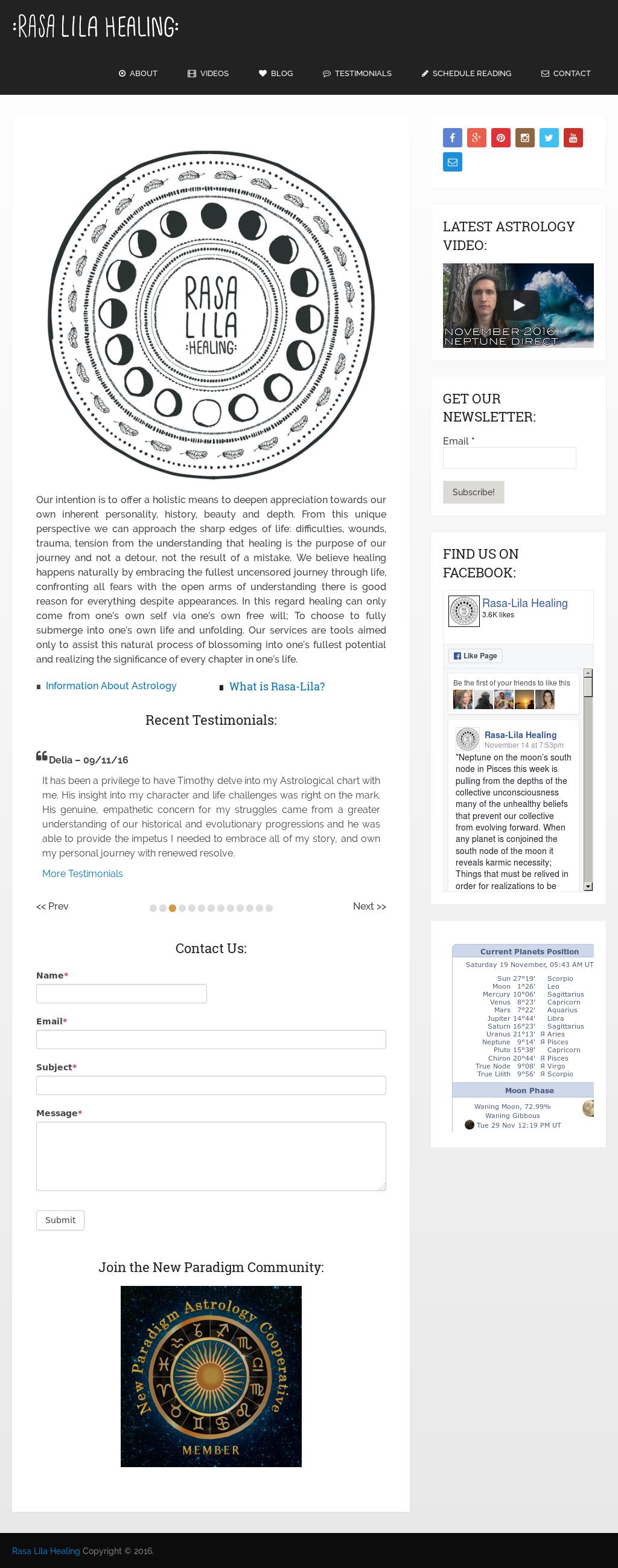 Rasa-lila Healing Competitors, Revenue and Employees - Owler Company