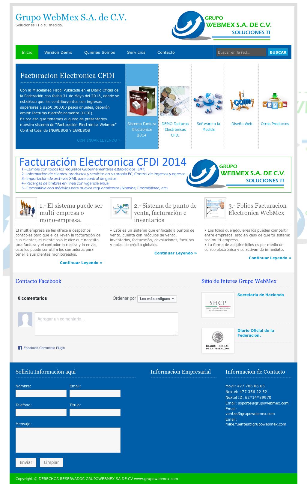 Grupo Webmex Sa De Cv Competitors Revenue And Employees