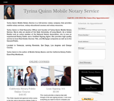 Tyrina Quinn Mobile Notary Service Competitors, Revenue and