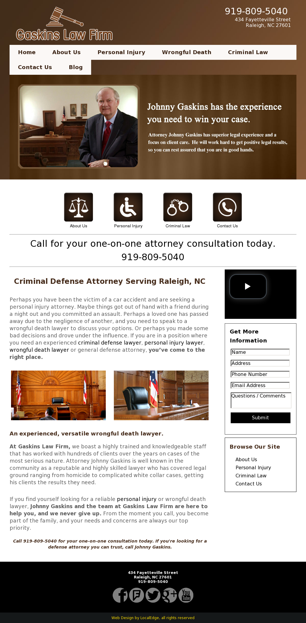 Gaskins Law Firm Competitors, Revenue and Employees - Owler Company