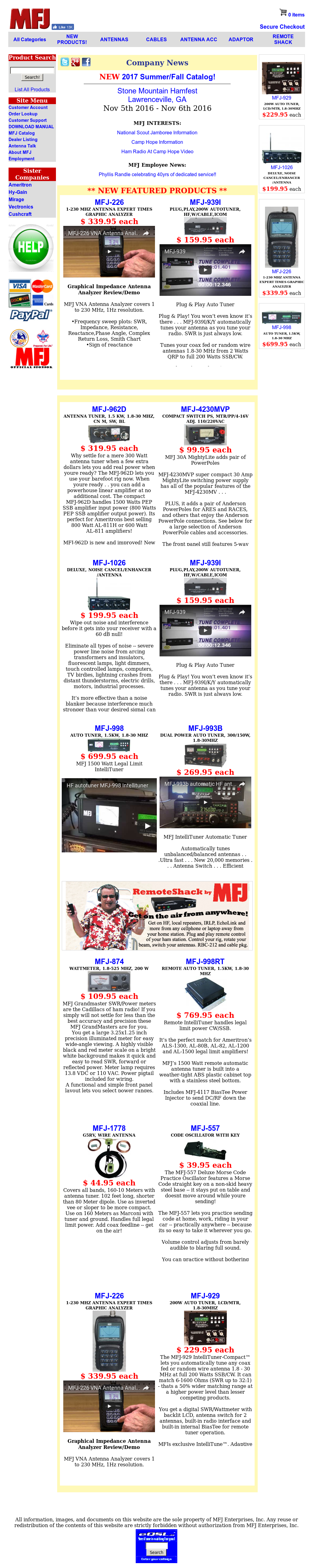 MFJ Competitors, Revenue and Employees - Owler Company Profile