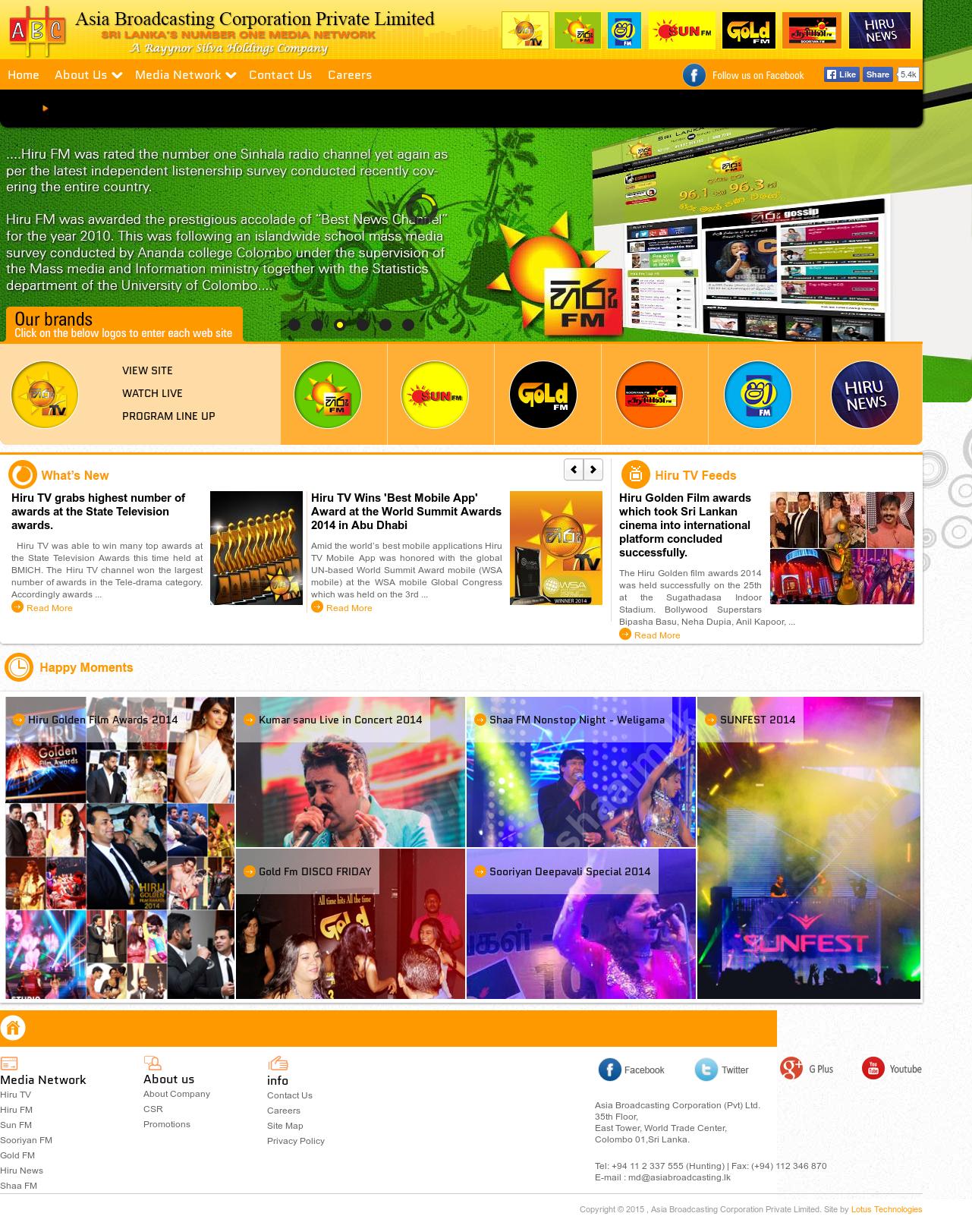 Abc Radio Networks Sri Lanka | Asia Broadcasting (Pvt) Competitors