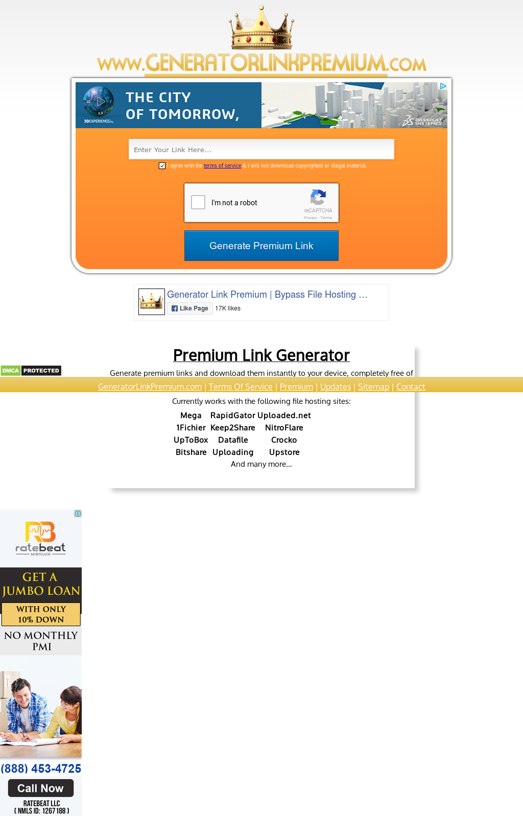 Generator Link Premium | Bypass File Hosting Companies
