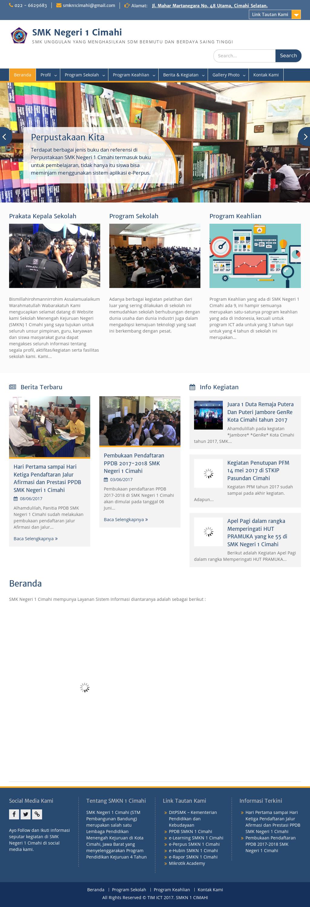 Smk Negeri 1 Cimahi Competitors, Revenue and Employees