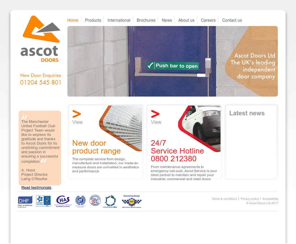Ascot Doors website history  sc 1 st  Owler & Ascot Doors Competitors Revenue and Employees - Owler Company Profile
