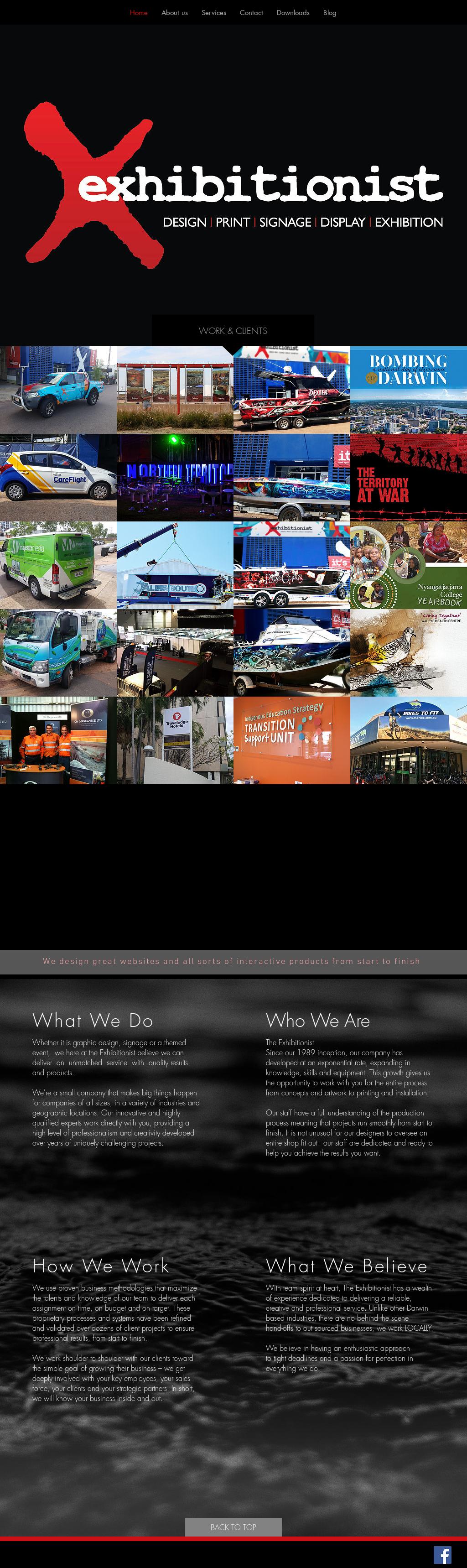 Exhibitionist website