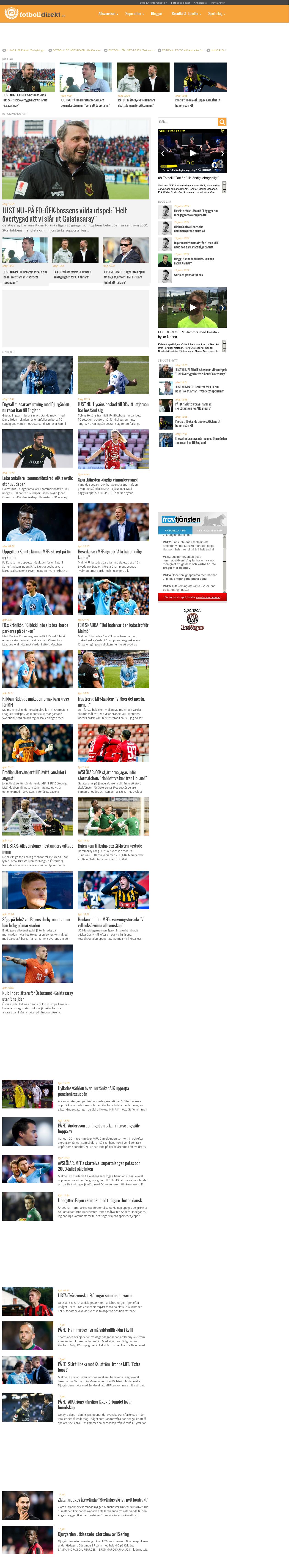 Fotbolldirekt online dating