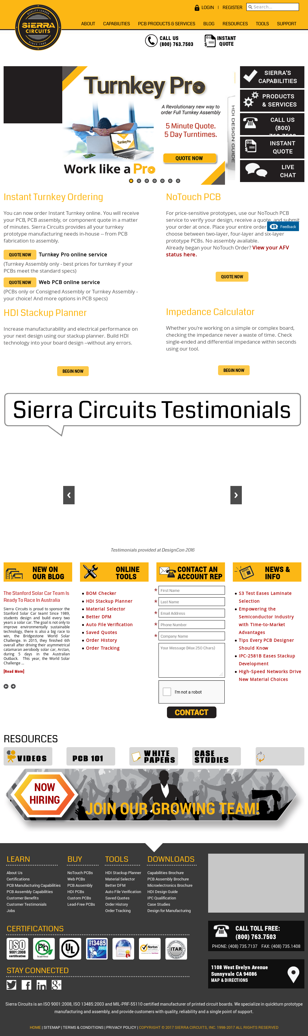 Sierra Circuits Competitors, Revenue and Employees - Owler