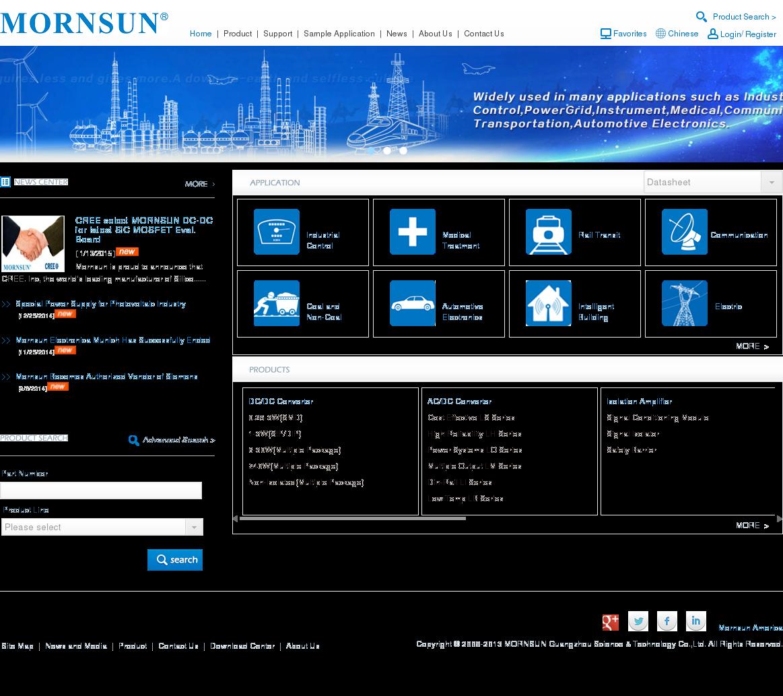 Mornsun Power Competitors Revenue And Employees Owler Company Profile Multi Output Dc To Converter