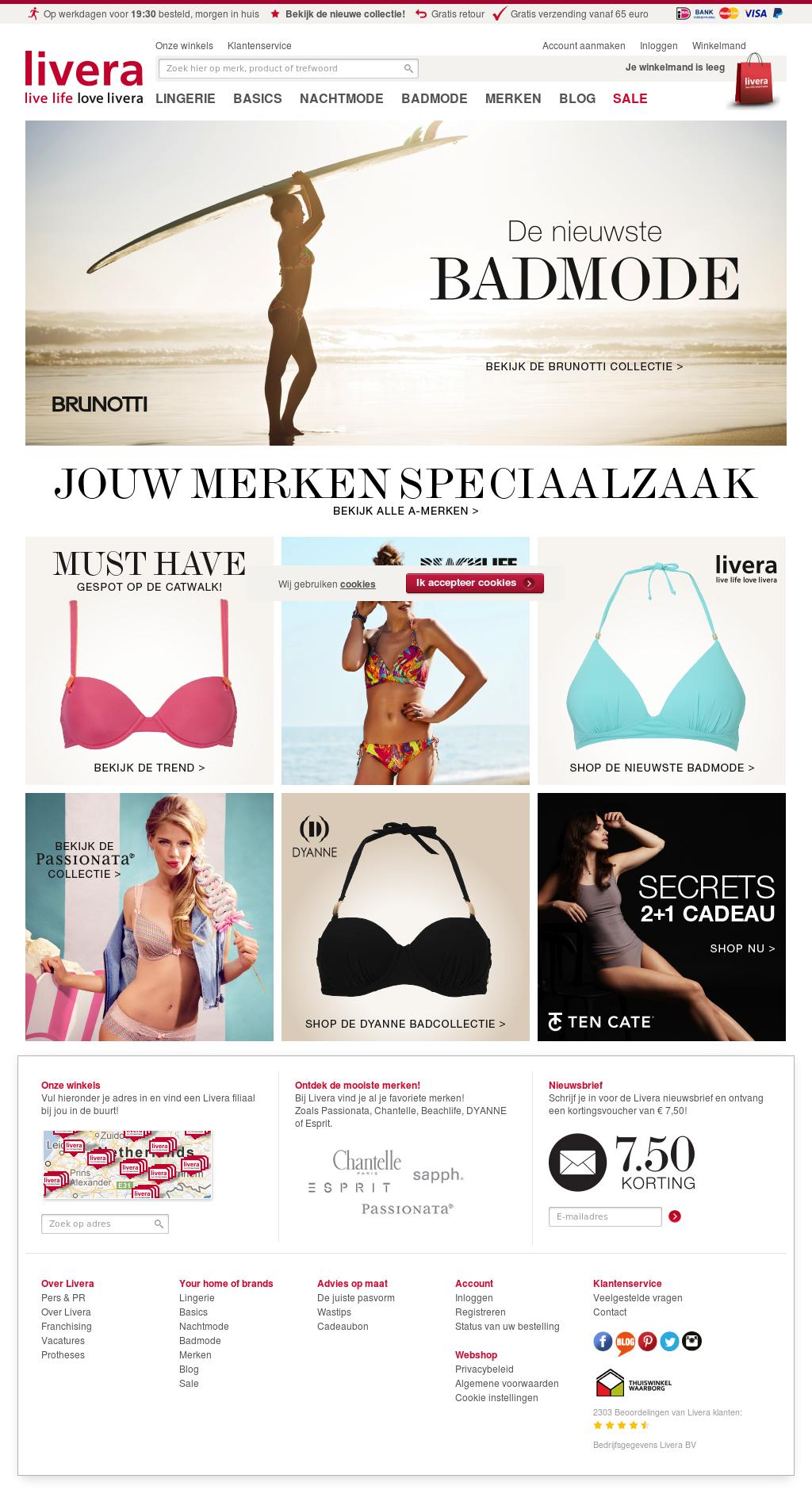 Livera bikini online dating