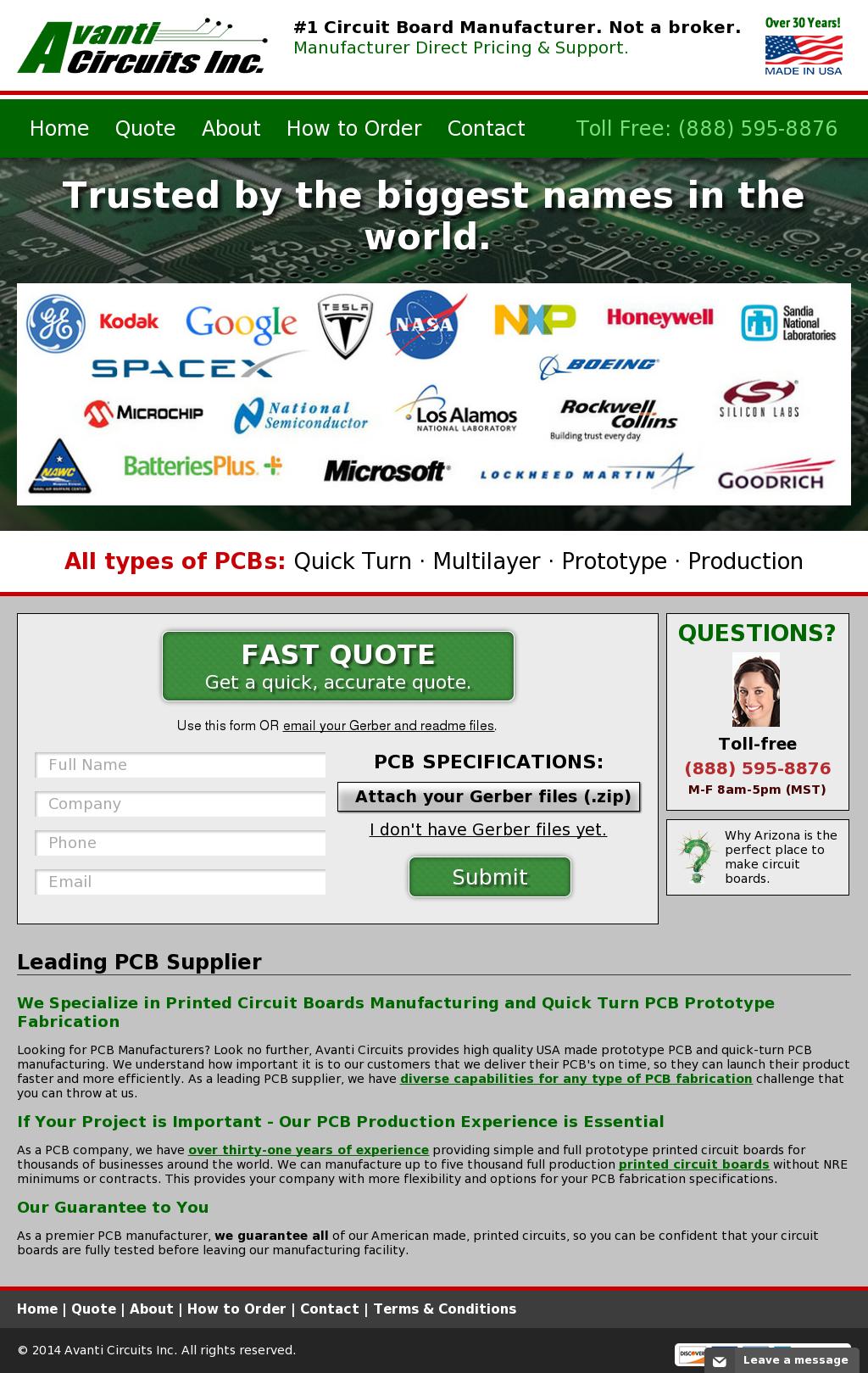 Avanti Circuits Competitors, Revenue and Employees - Owler Company ...