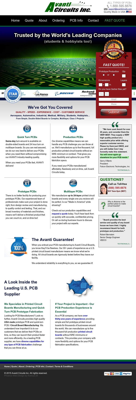 Avanti Circuits Competitors, Revenue and Employees - Owler Company