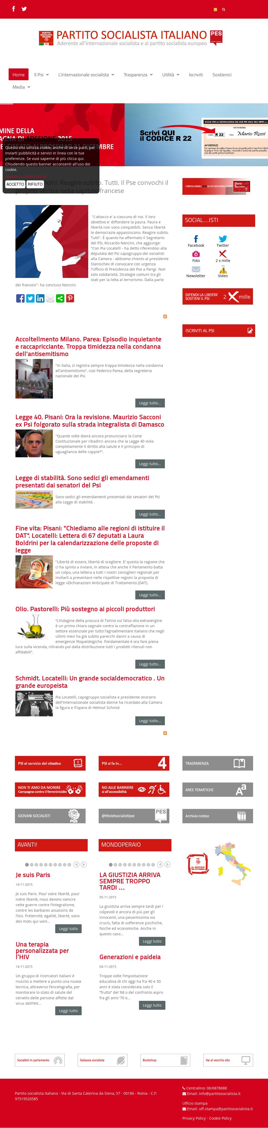 Tutto Luce Torino To partito socialista italiano psi competitors, revenue and