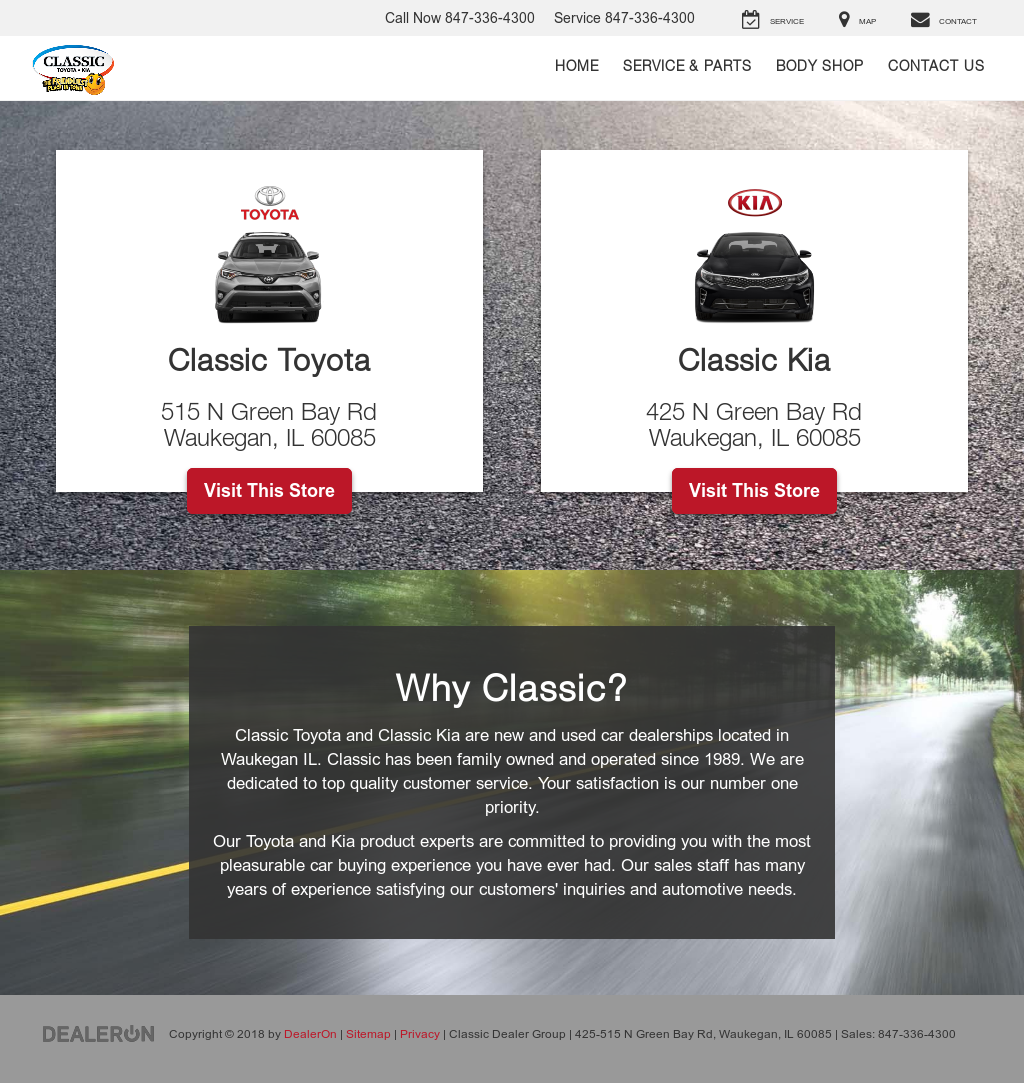 Classic Toyota Waukegan >> Classic Dealer Group Competitors Revenue And Employees