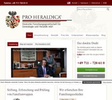 Pro heraldica competitors revenue and employees owler for Pro heraldica