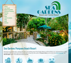 Sea Gardens Beach And Tennis Resort Competitors Revenue And