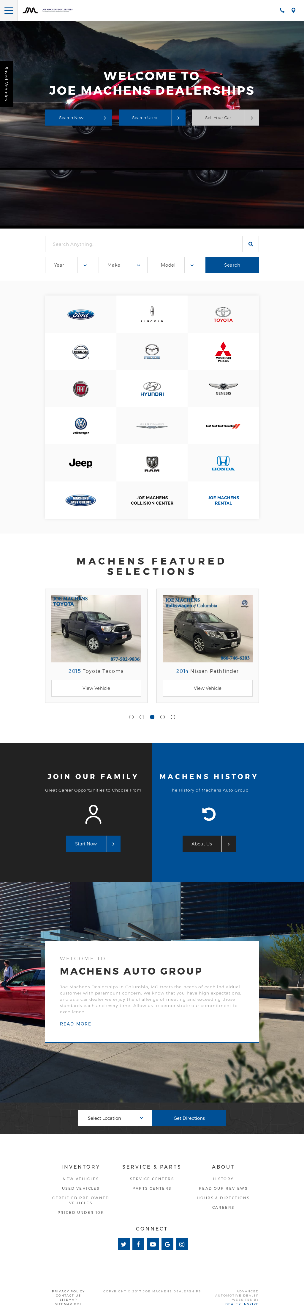 Joe Machens Automotive Competitors Revenue And Employees