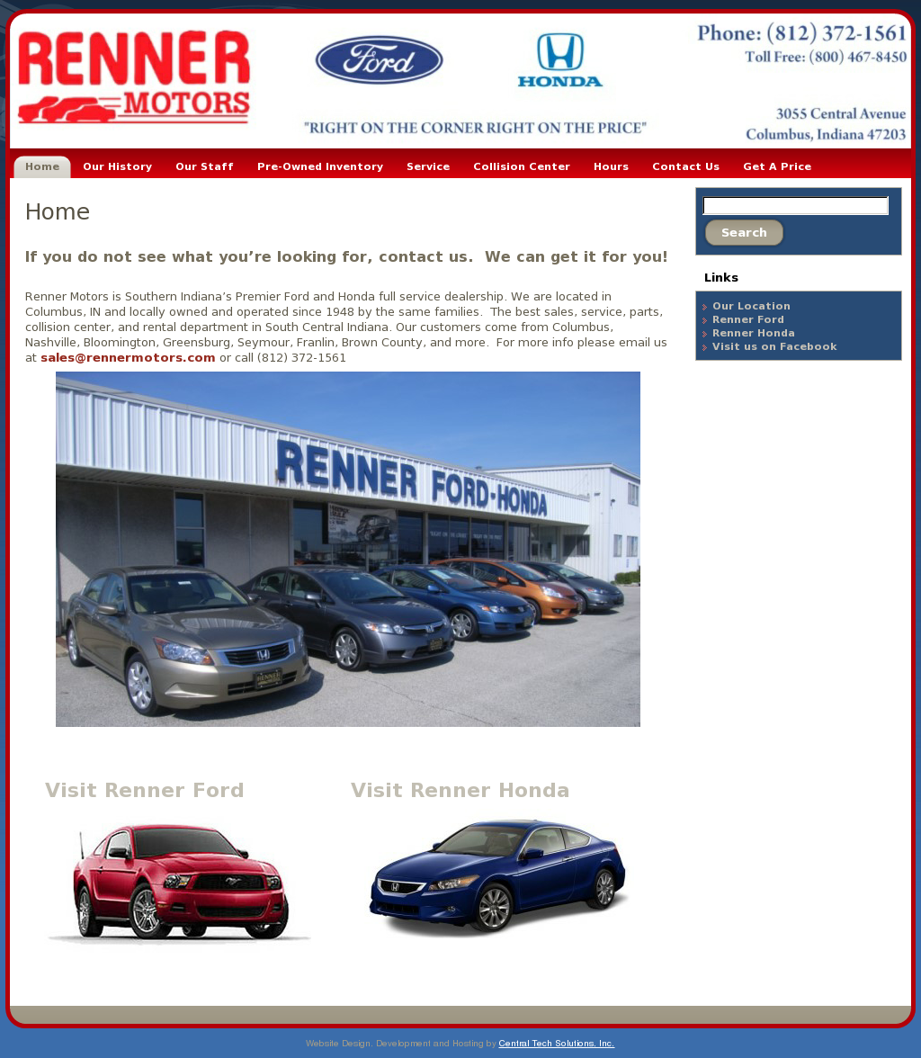 Renner Used Cars Columbus Indiana