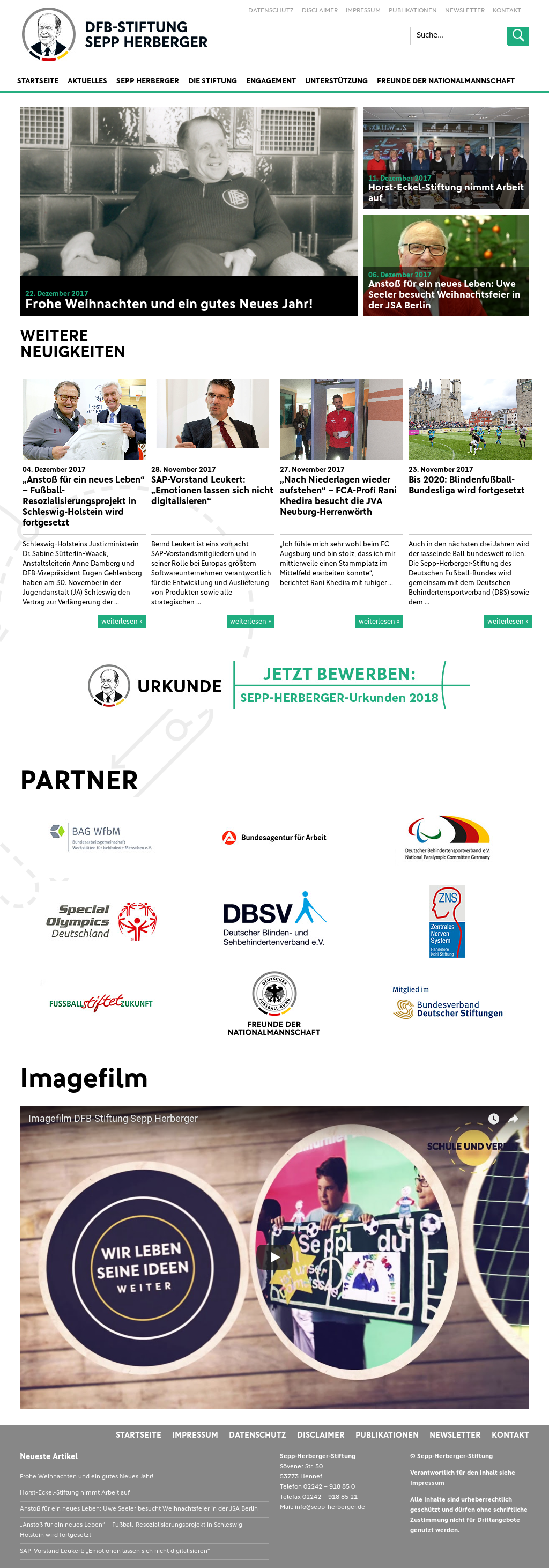 Dfb Stiftung Sepp Herberger Competitors Revenue And