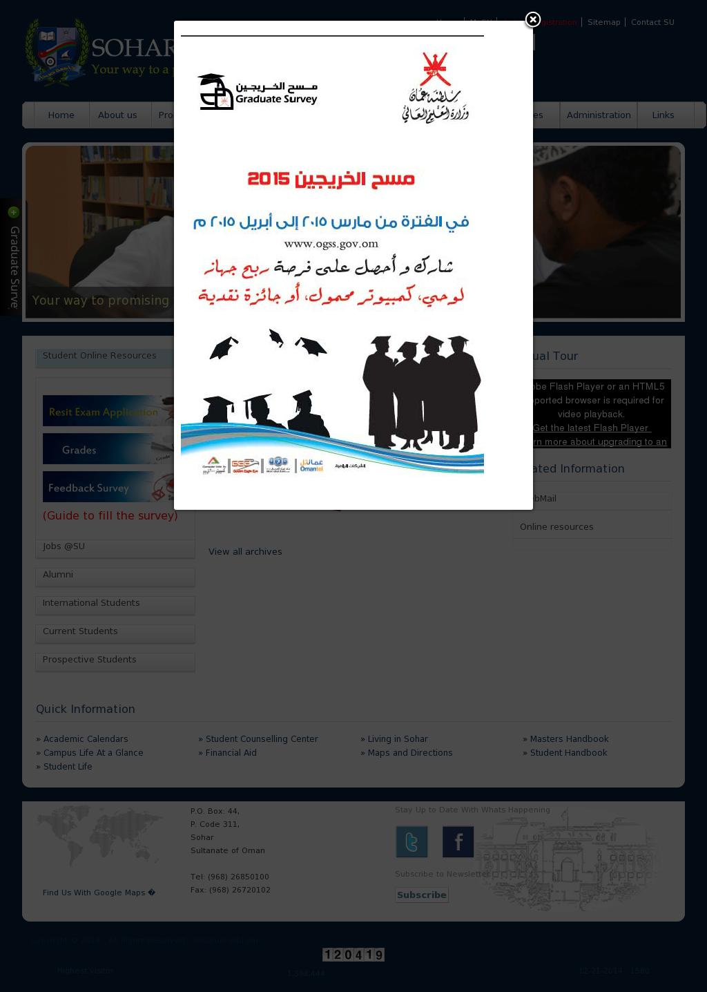 Sohar University,Oman Competitors, Revenue and Employees - Owler