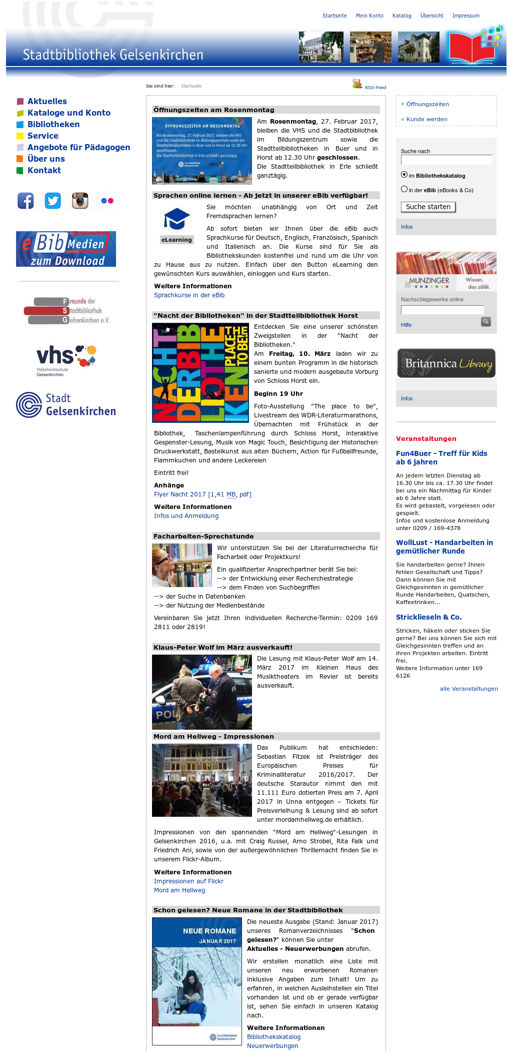 Stadtbibliothek Gelsenkirchen Competitors Revenue And