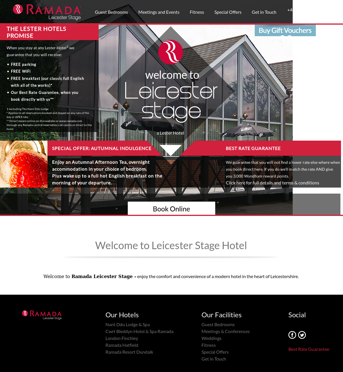 Leicester Stage Hotel Competitors, Revenue and Employees