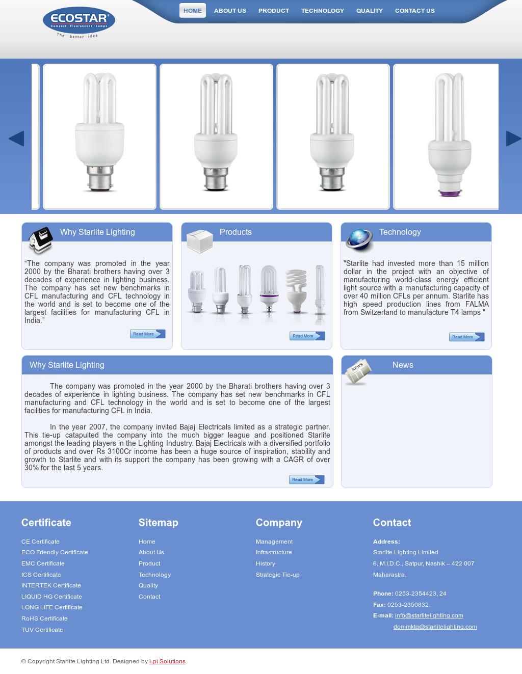 Starlite Lighting website history  sc 1 st  Owler & Starlite Lighting Competitors Revenue and Employees - Owler Company ...