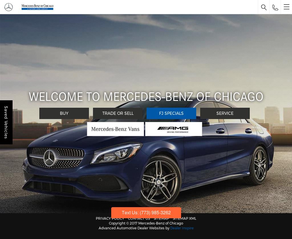 Mercedes Benz Of Chicago Website History