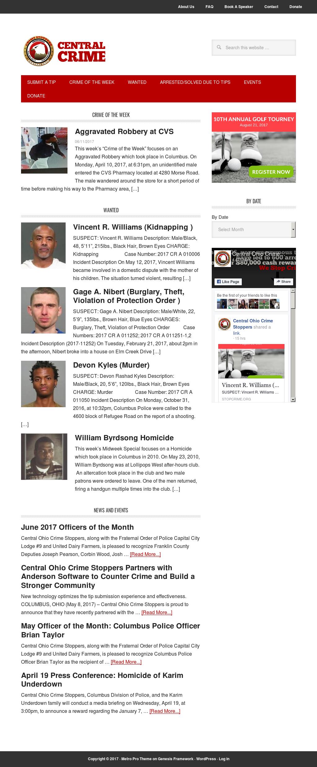 Central Ohio Crime Stoppers Competitors, Revenue and