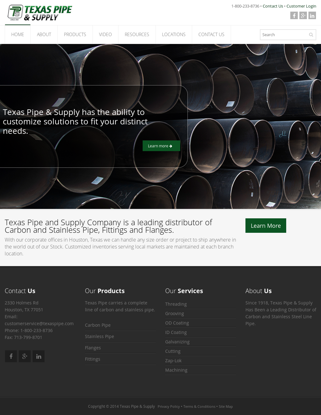 Texas Pipe and Supply Competitors, Revenue and Employees - Owler