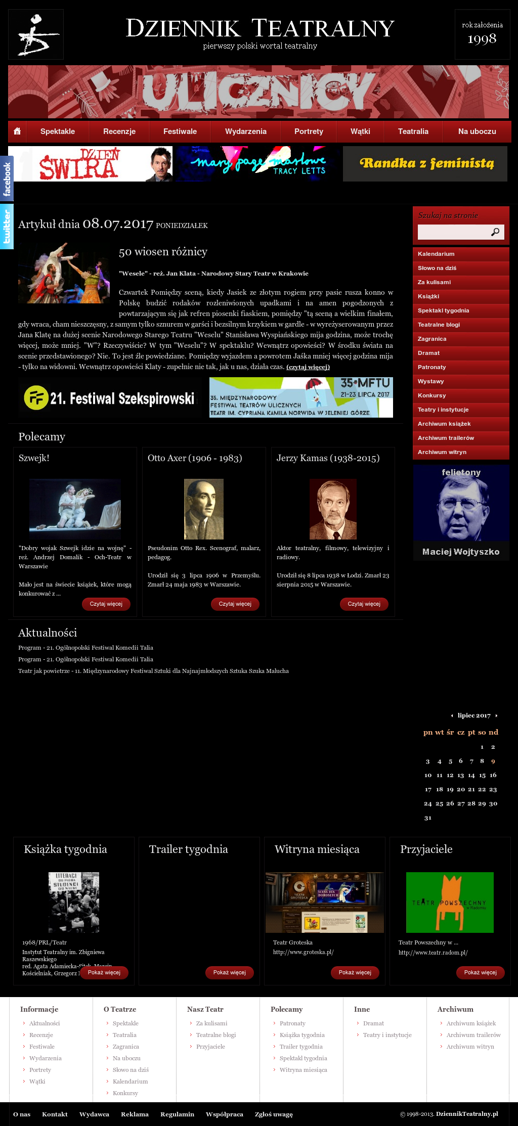 Dziennik Teatralny Competitors Revenue And Employees Owler