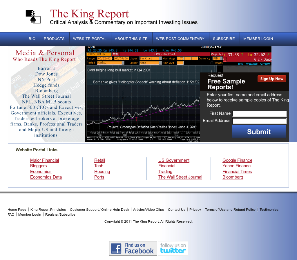 The King Report Competitors, Revenue and Employees - Owler Company