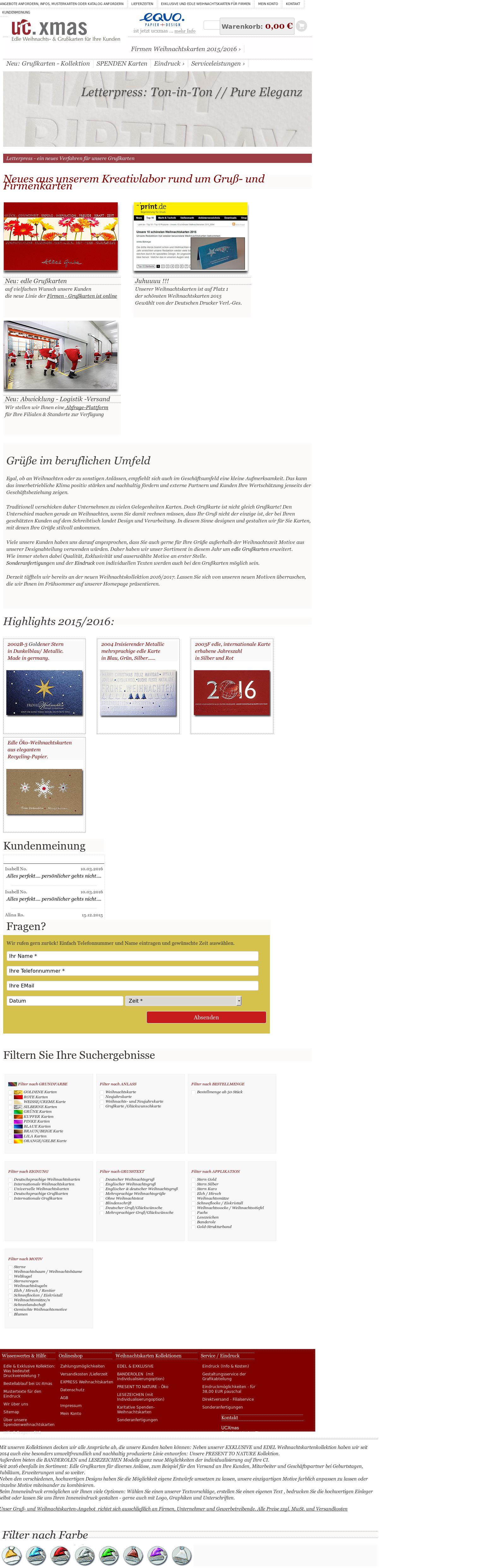 Weihnachtskarten Katalog.Weihnachtskarten Ucxmas Competitors Revenue And Employees Owler