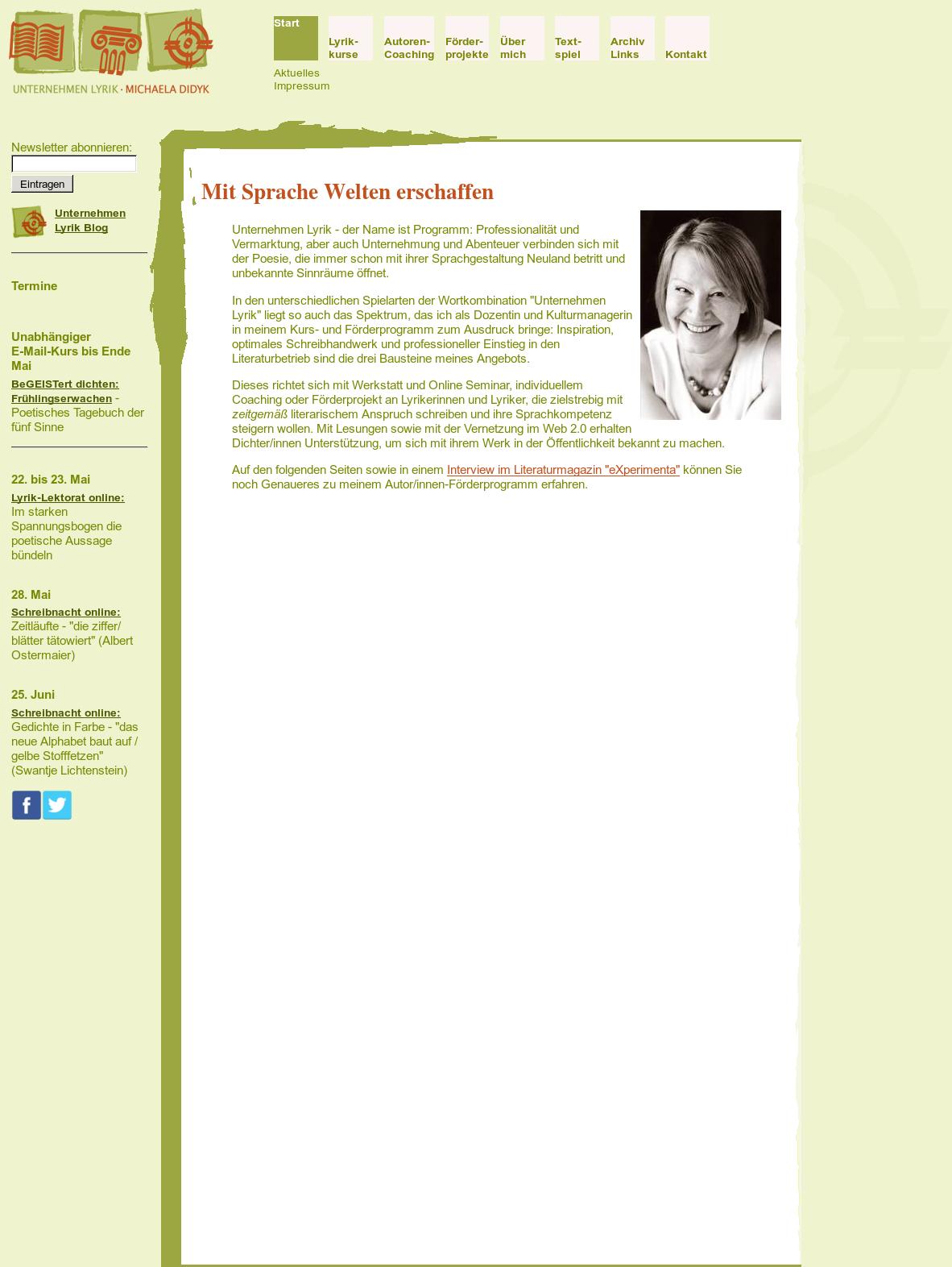 Unternehmen Lyrik Michaela Didyk Competitors Revenue And