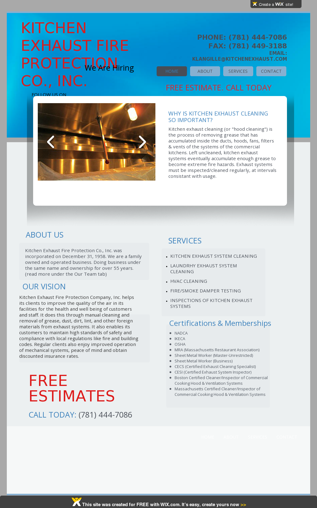 Kitchen Exhaust Fire Protection Competitors, Revenue and Employees ...