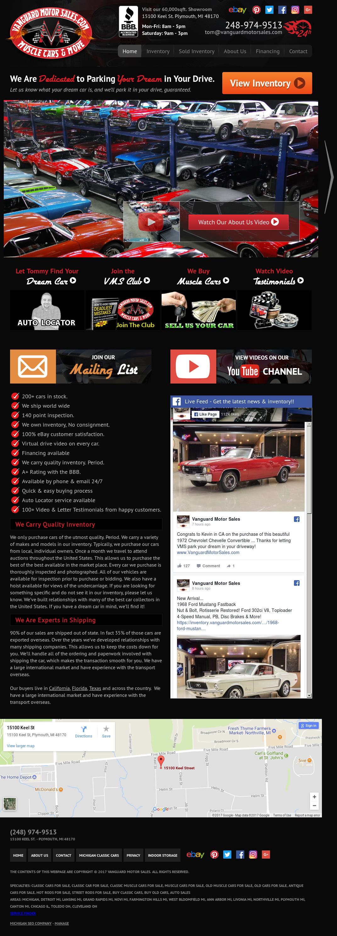 Vanguardmotorsales Competitors, Revenue and Employees - Owler ...