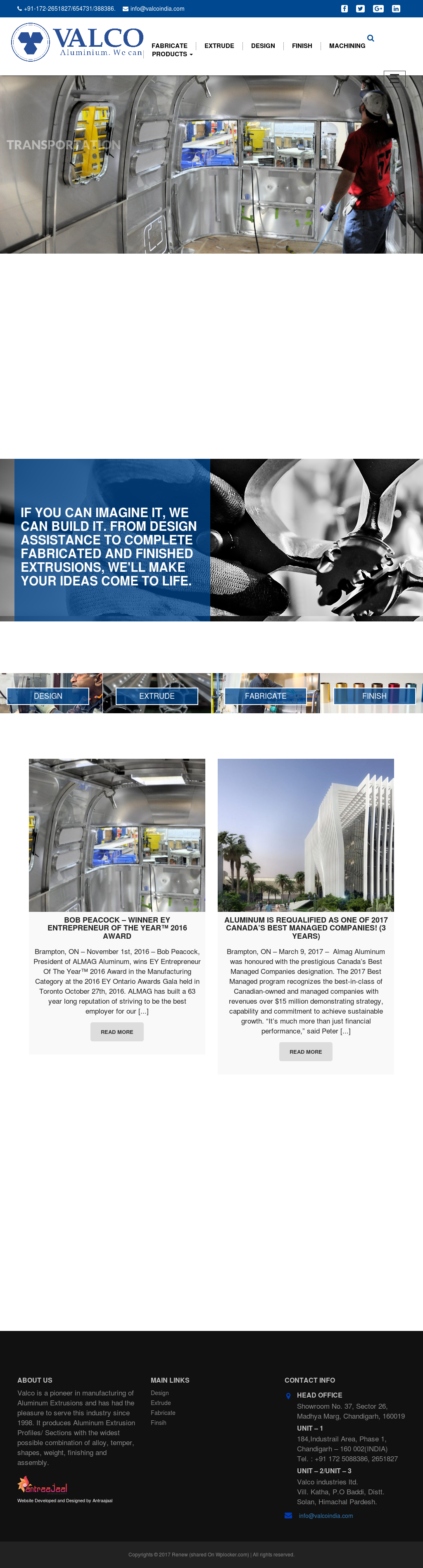 Valco Aluminum Extrusions Competitors, Revenue and Employees