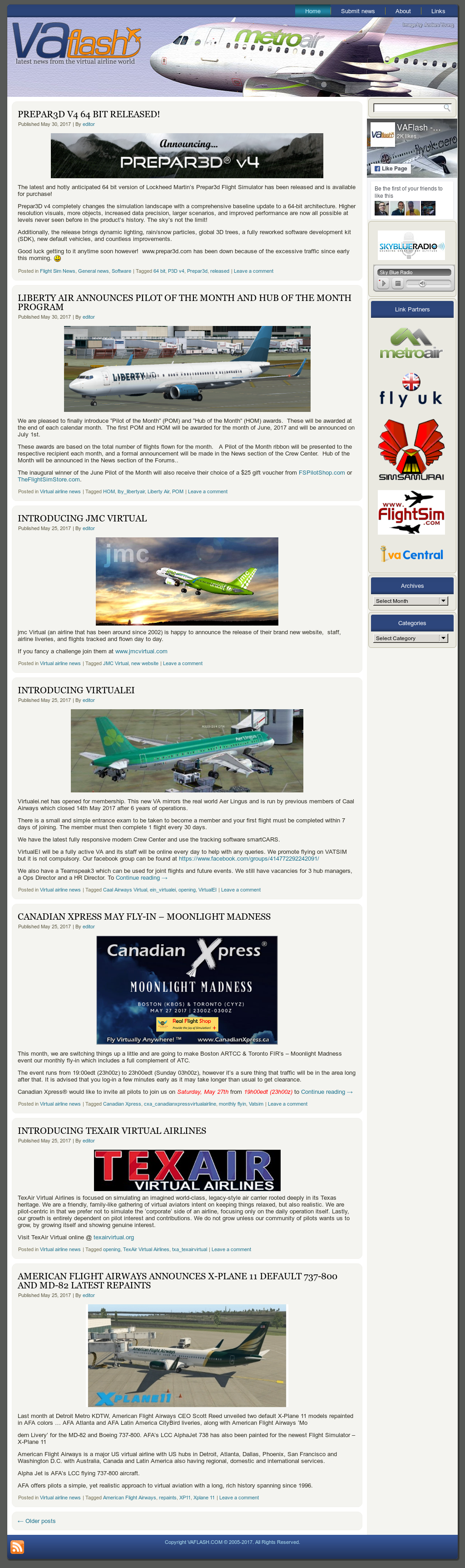 Vaflash - Virtual Airline News Competitors, Revenue and Employees