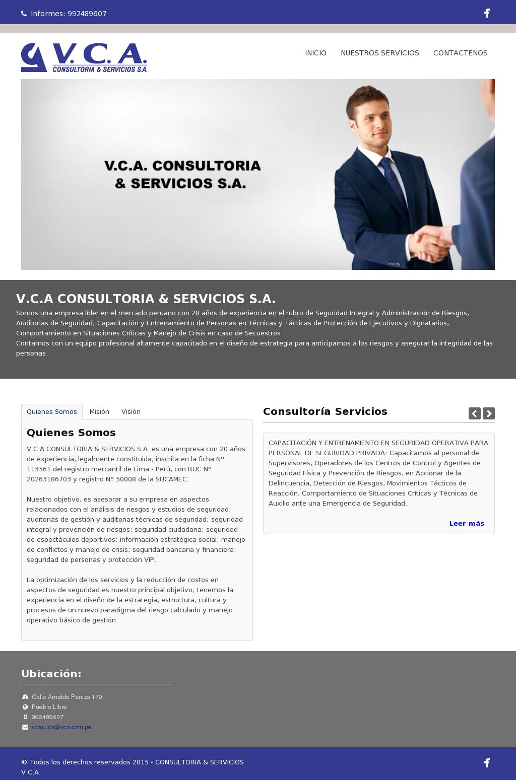 Vca Consultoria Servcios Competitors Revenue And