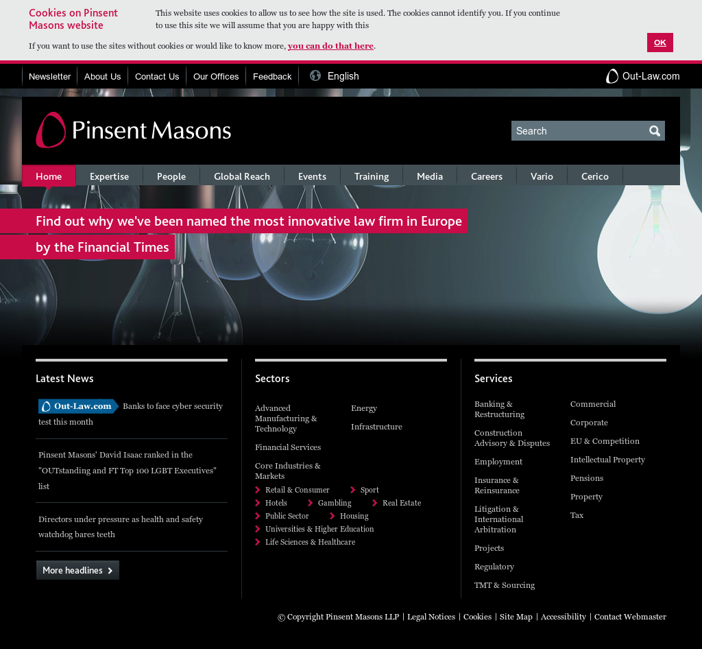 Pinsent Masons Competitors, Revenue and Employees - Owler