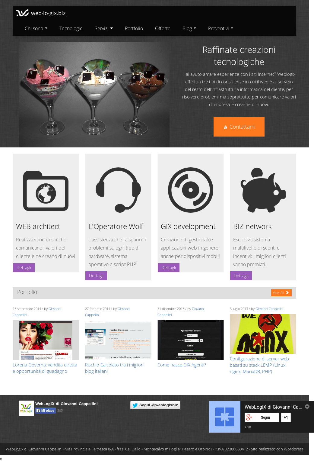 ultima moda il più grande sconto maggiore sconto di vendita Weblogix Di Giovanni Cappellini Competitors, Revenue and ...