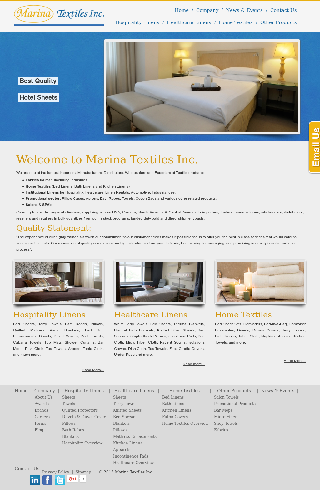 Marina Textiles Competitors, Revenue and Employees - Owler Company